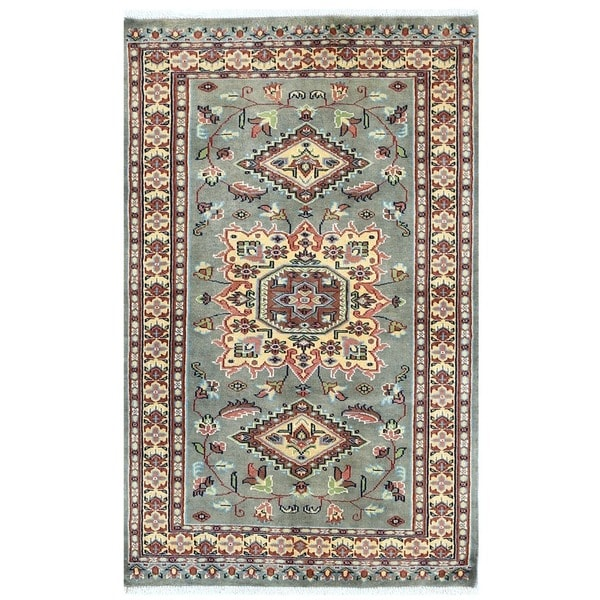 Shop Handmade Herat Oriental Pakistani Bokhara Wool Rug
