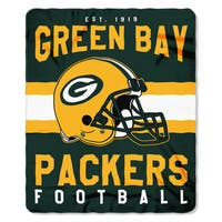 NFL 031 Packers Singular Fleece Throw