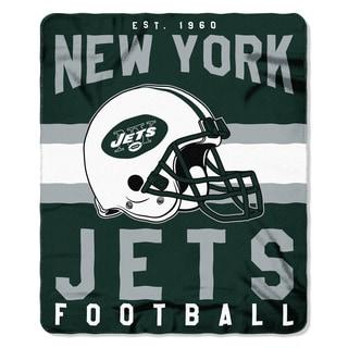 NFL 031 Jets Singular Fleece Throw