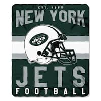 NFL 031 Jets Singular Fleece Throw