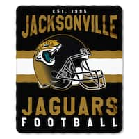 NFL 031 Jaguars Singular Fleece Throw