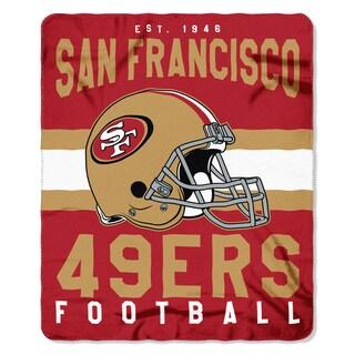 NFL 031 49ers Singular Fleece Throw