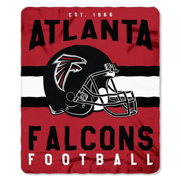 NFL 031 Falcons Singular Fleece Throw