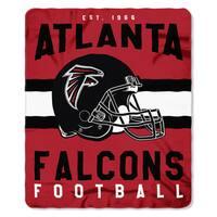 NFL 031 Falcons Singular Fleece Throw
