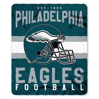 NFL 031 Eagles Singular Fleece Throw