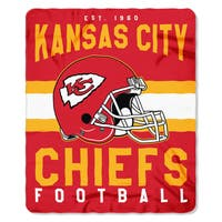 NFL 031 Chiefs Singular Fleece Throw