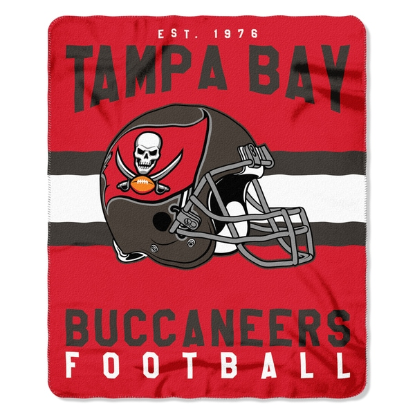 NFL 031 Bucs Singular Fleece Throw
