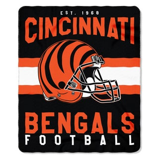 NFL 031 Bengals Singular Fleece Throw