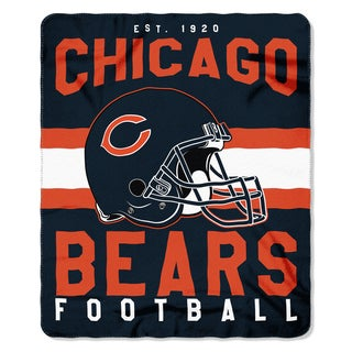 NFL 031 Bears Singular Fleece Throw