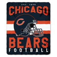 NFL 031 Bears Singular Fleece Throw