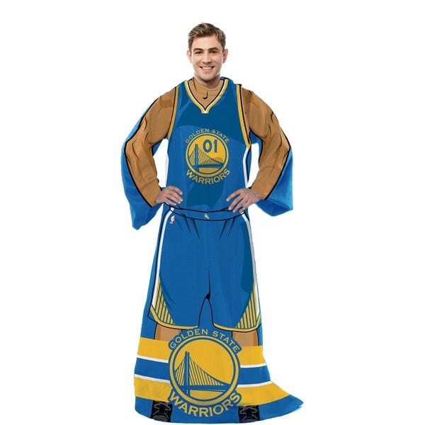 NBA 024 Warriors Uniform Comfy Throw