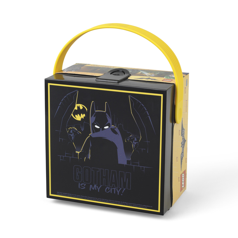 Lego Batman Lunchbox with Handle Black (G887988008040), M...