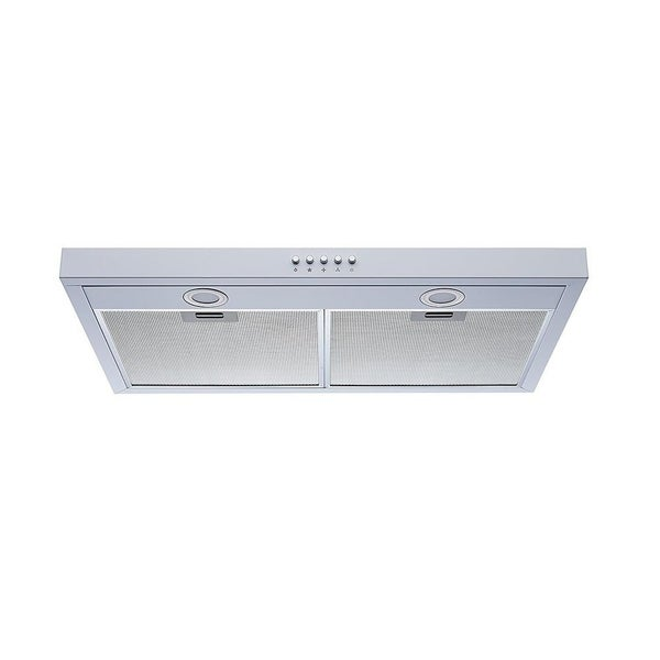 "Winflo 30"" 350 CFM Convertible Under Cabinet Range Hood in White"