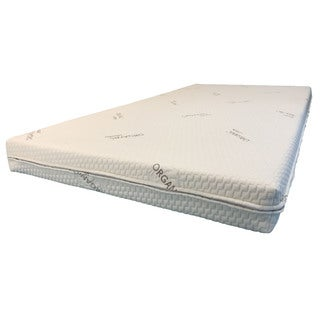 RV Camper Firm-Soft Dual Sided 6-inch Short Full-size Foam Mattress
