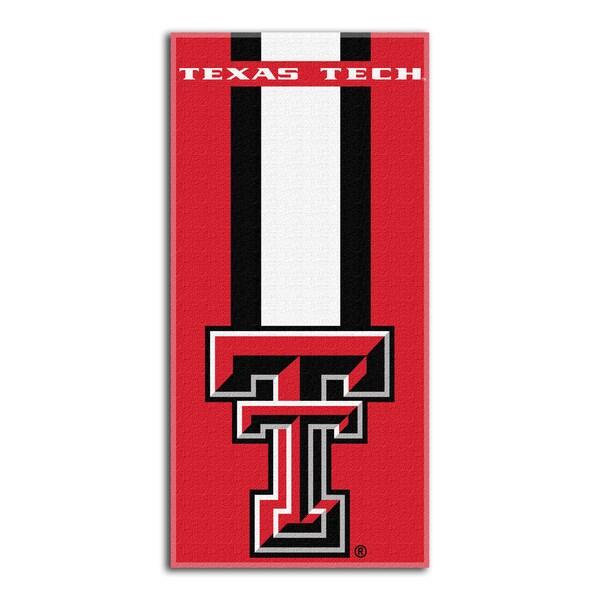 COL 620 Texas Tedch Zone Read Beach Towel