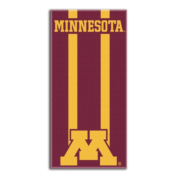 COL 620 Minnesotae Zone Read Beach Towel