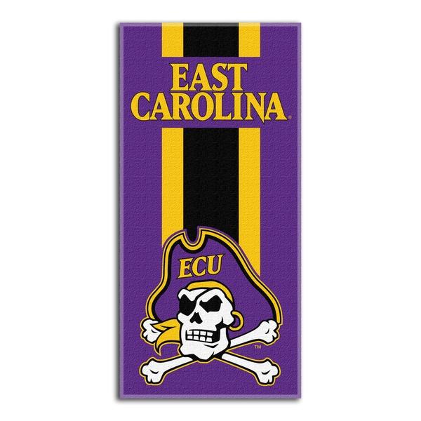 COL 620 East Carolina Zone Read Beach Towel