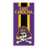 COL 620 East Carolina Zone Read Beach Towel