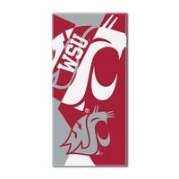 COL 622 Washington State Puzzle Beach Towel