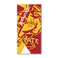 COL 622 Iowa State Puzzle Beach Towel