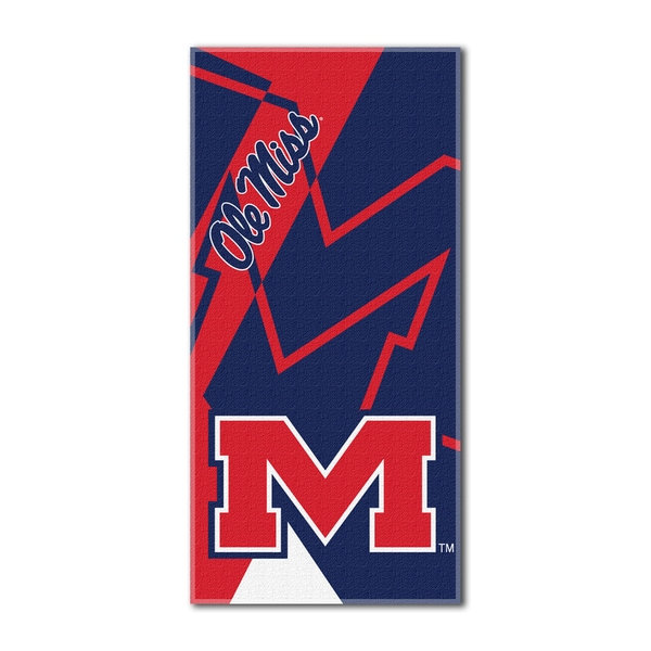 COL 622 Mississippi Puzzle Beach Towel