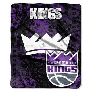 NBA 670 Sac Kings Dropdown Raschel Throw