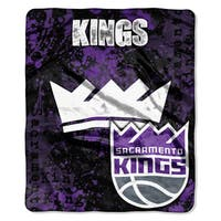 NBA 670 Sac Kings Dropdown Raschel Throw