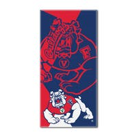 COL 622 Fresno State Puzzle Beach Towel