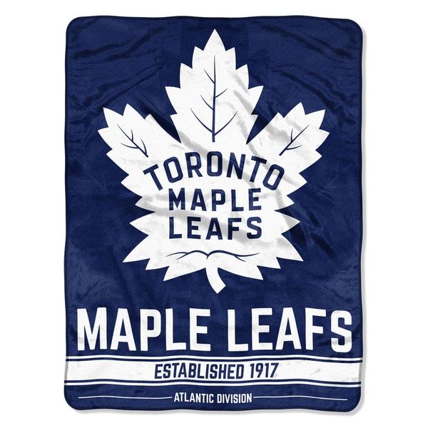 NHL 659 Maple Leafs Breakaway Micro Throw