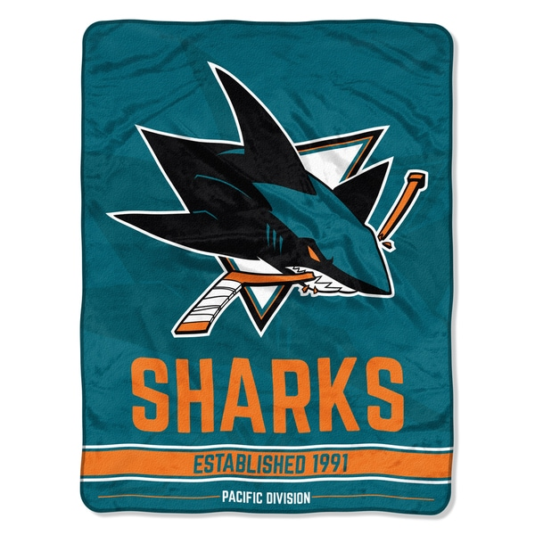 NHL 659 Sharks Breakaway Micro Throw