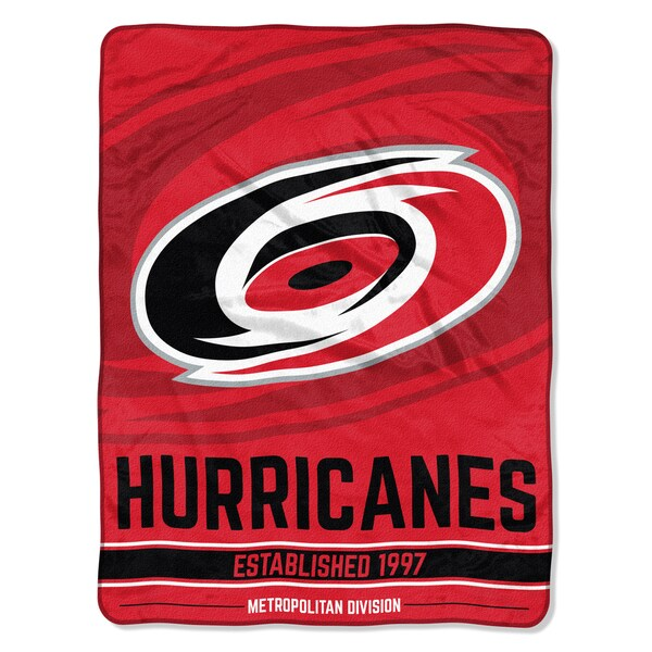 NHL 659 Hurricanes Breakaway Micro Throw