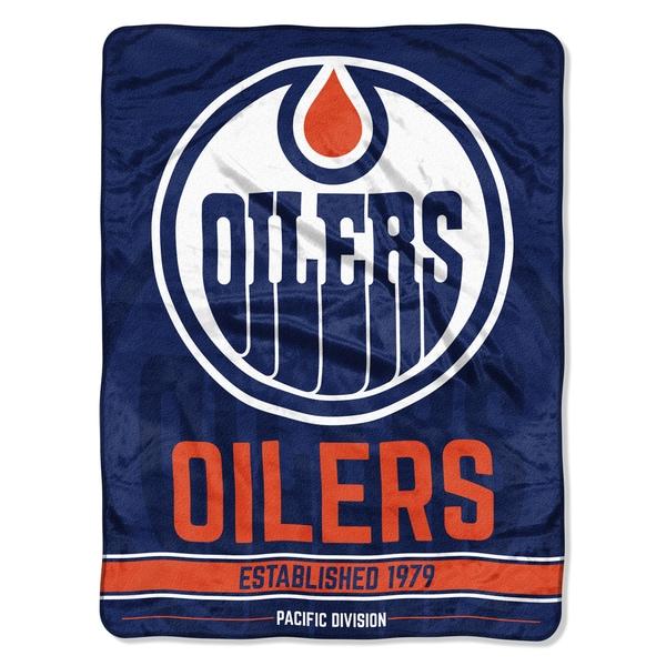 NHL 659 Oilers Breakaway Micro Throw