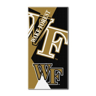 COL 622 Wake Forest Puzzle Beach Towel