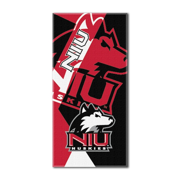 COL 622 Northern Illinois Puzzle Beach Towel