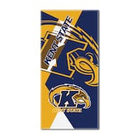 COL 622 Kent State Puzzle Beach Towel
