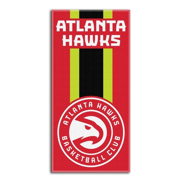 NBA 620 Hawks Zone Read Beach Towel