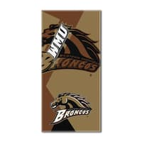 COL 622 Western Michigan Puzzle Beach Towel