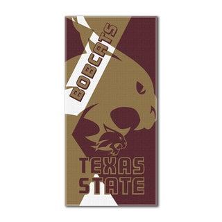 COL 622 Texas State Puzzle Beach Towel