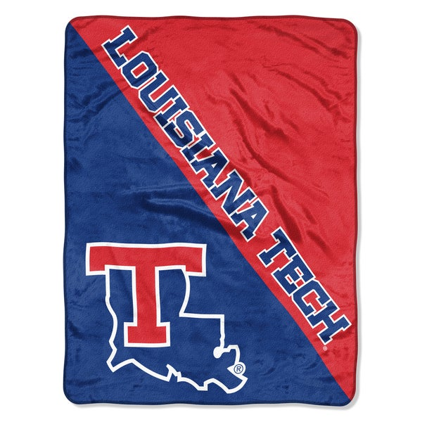 COL 659 Louisiana Tech Halftone Micro Throw