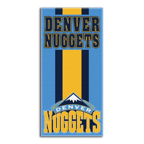 NBA 620 Nuggets Zone Read Beach Towel