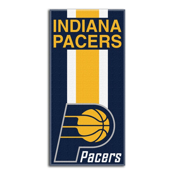 NBA 620 Pacers Zone Read Beach Towel