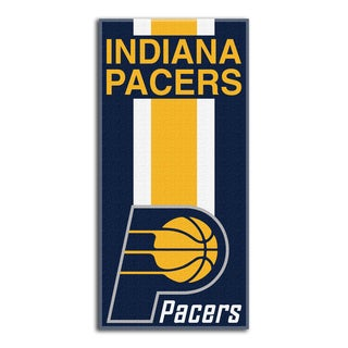 NBA 620 Pacers Zone Read Beach Towel