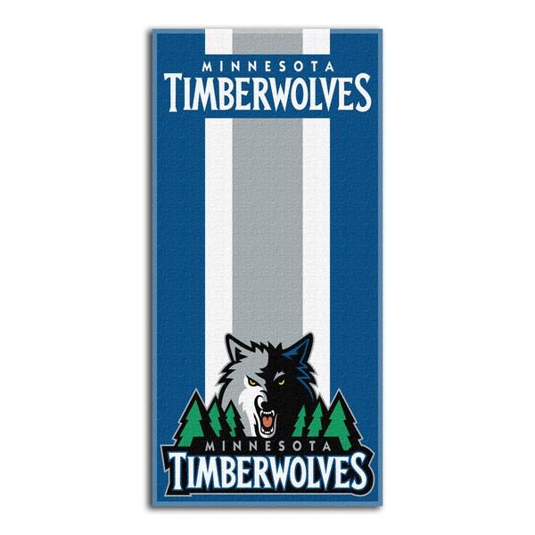 NBA 620 Timberwolves Zone Read Beach Towel