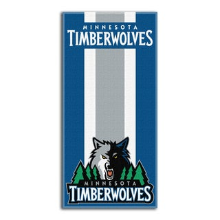 NBA 620 Timberwolves Zone Read Beach Towel