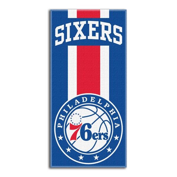 NBA 620 76ers Zone Read Beach Towel