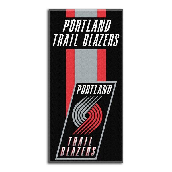 NBA 620 Trailblazers Zone Read Beach Towel