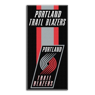 NBA 620 Trailblazers Zone Read Beach Towel