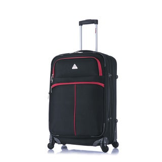 InUSA Roller-FI 24-inch Lightweight Softside Spinner Upright Suitcase