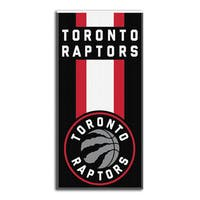NBA 620 Raptors Zone Read Beach Towel