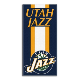NBA 620 Jazz Zone Read Beach Towel